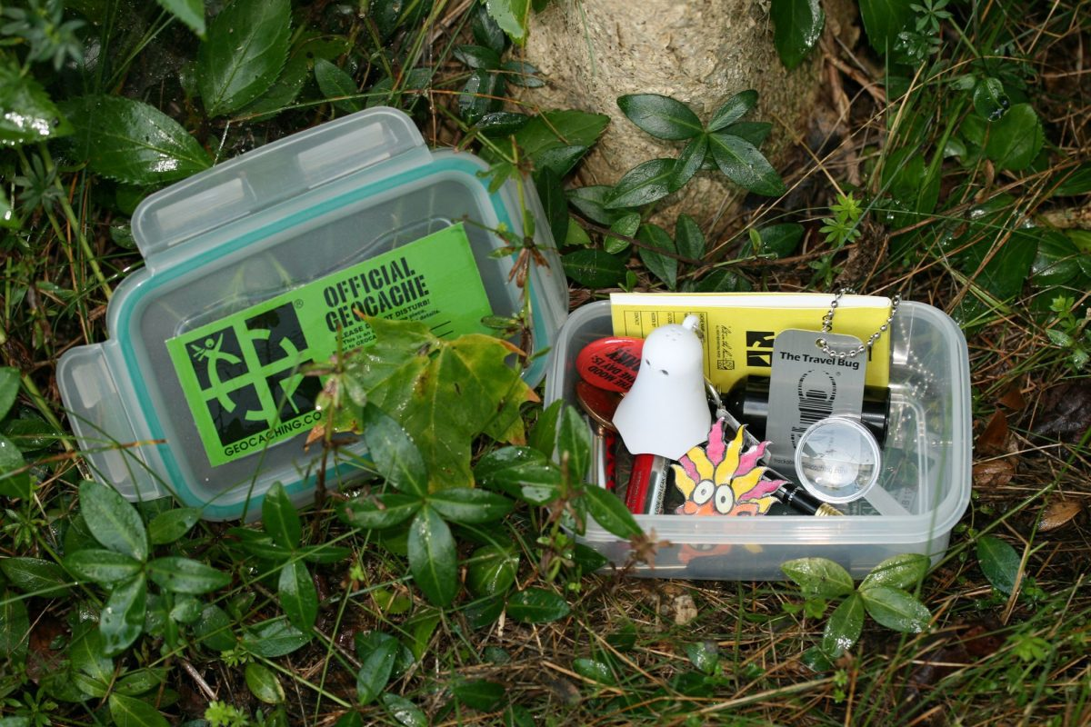 Geocaching - treasure hunting for the whole family