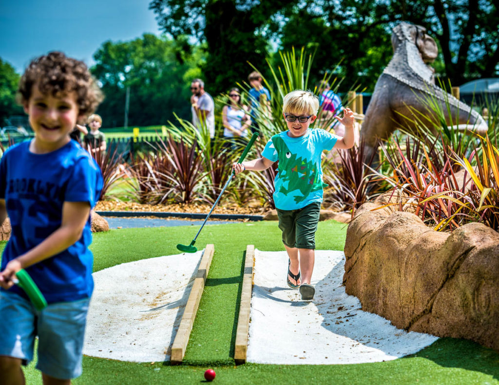 Mr Mulligans Dino Golf Tonbridge